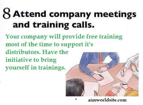 Network Marketing Tips for Success Online or Offline 8