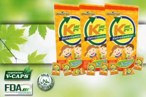 Kiddi 24/7 Nutragammies aim global product
