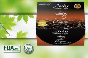 liven coffe aim global product