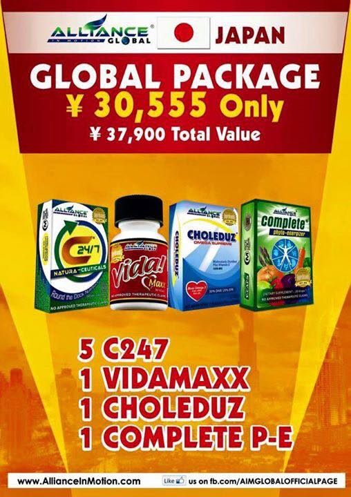 AIM Global Japan Package