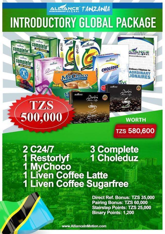 aim global tanzania package