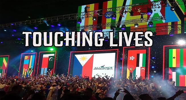 aim global touching lives