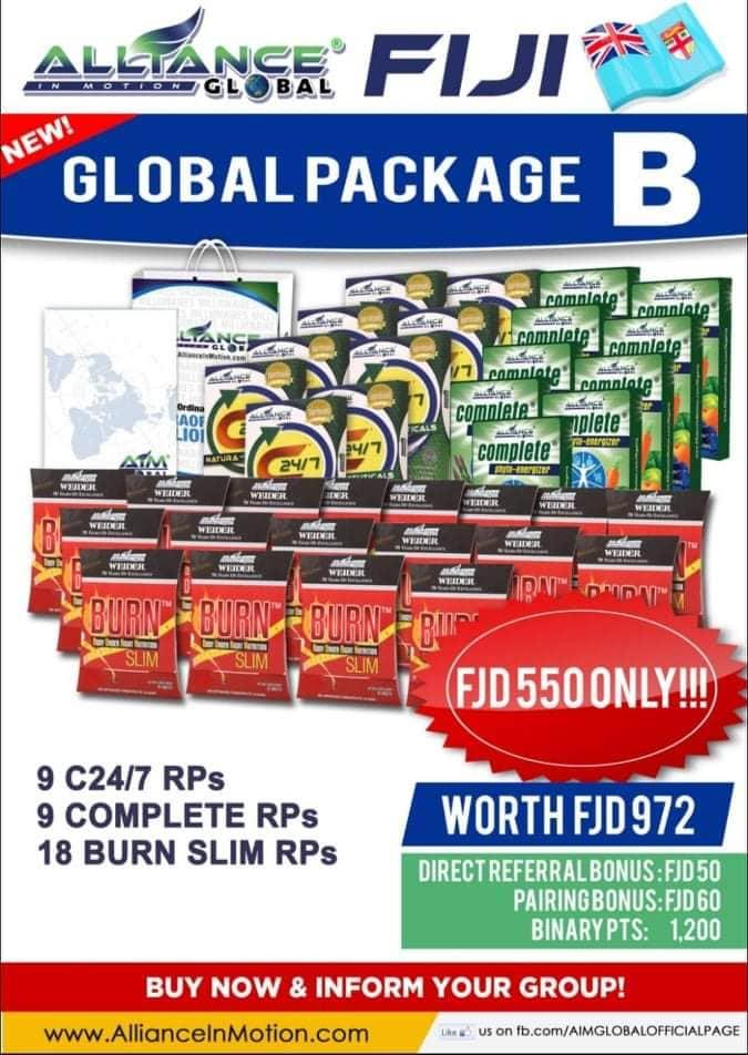 aim global fiji package b