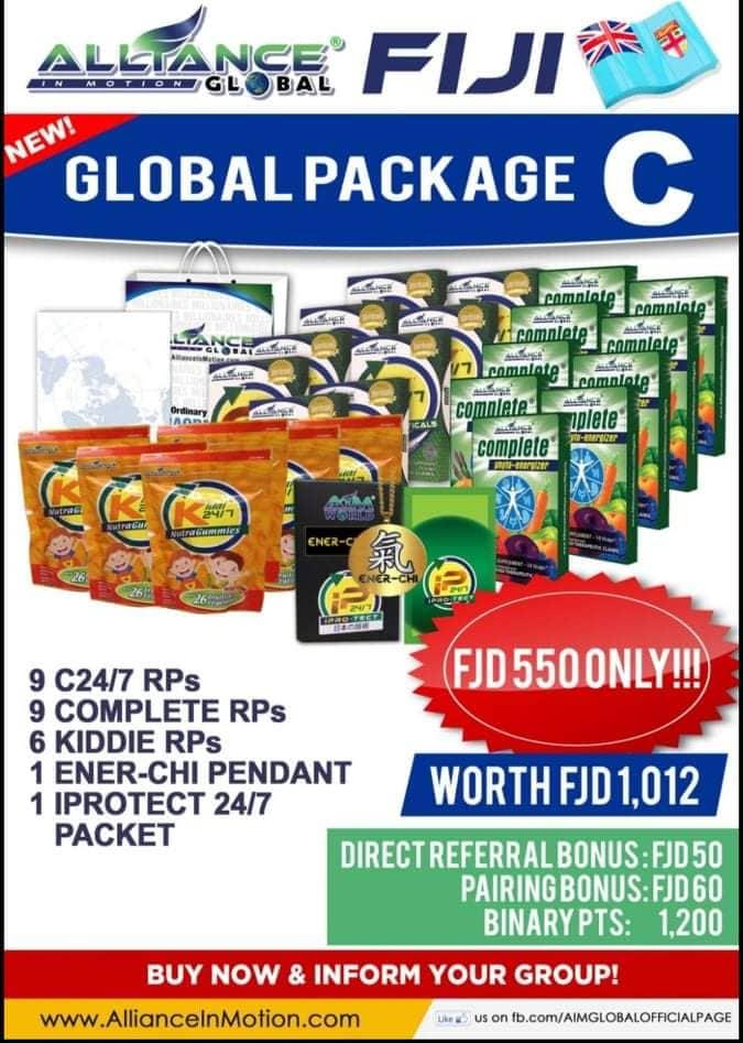 aim global fiji package c