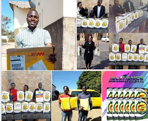 AIM Global package shipping