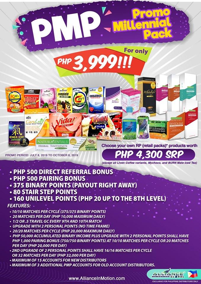 pmp 3999 millenial package